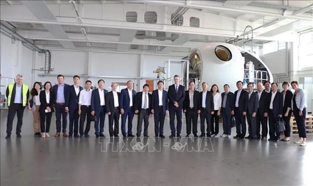 Des entreprises allemandes appelees a investir a Thai Binh hinh anh 2
