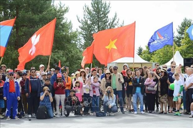 Le Vietnam au festival sportif d'ete des missions diplomatiques en Russie hinh anh 1