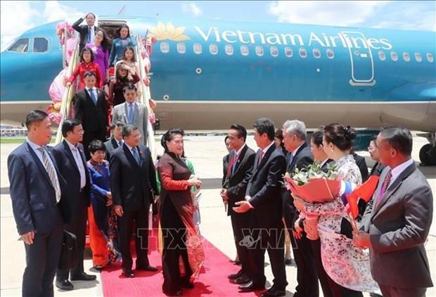 La presidente de l'AN se rend en Thailande pour participer a l'AIPA 40 hinh anh 2