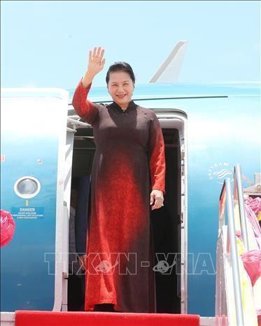 La presidente de l'AN se rend en Thailande pour participer a l'AIPA 40 hinh anh 1