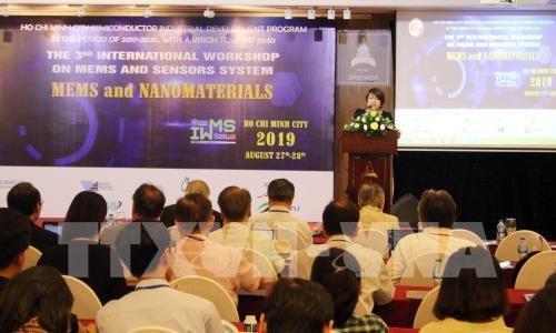 Les microsystemes electromecaniques au cœur d'une conference internationale a HCM-V hinh anh 1