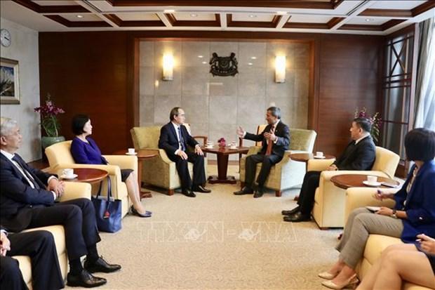 Ho Chi Minh-Ville encourage sa cooperation avec Singapour pour les start-ups et l'innovation hinh anh 2