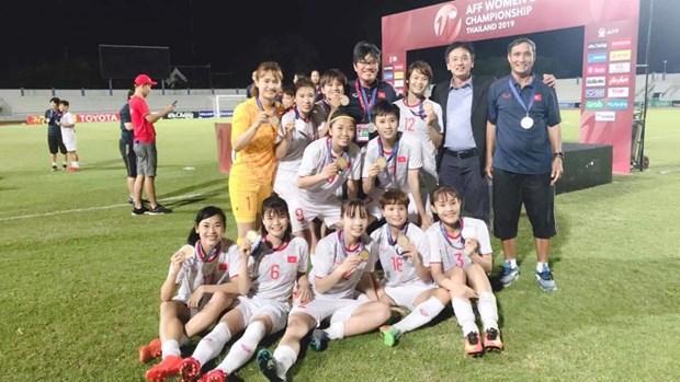 Le Premier ministre felicite la victoire de l'equipe de football feminin hinh anh 2
