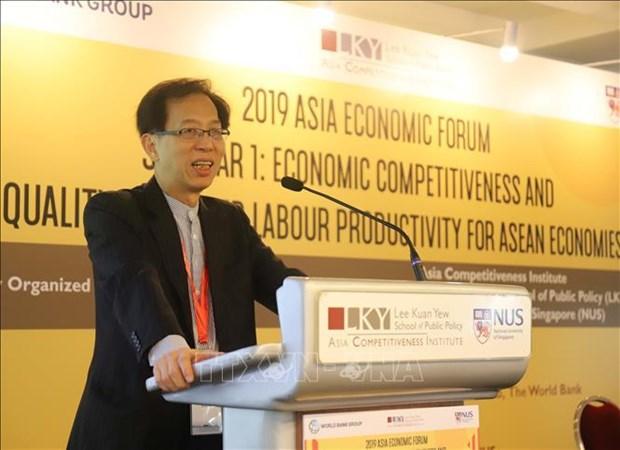 Des experts aseaniens discutent de la competitivite economique et de la productivite de travail hinh anh 1