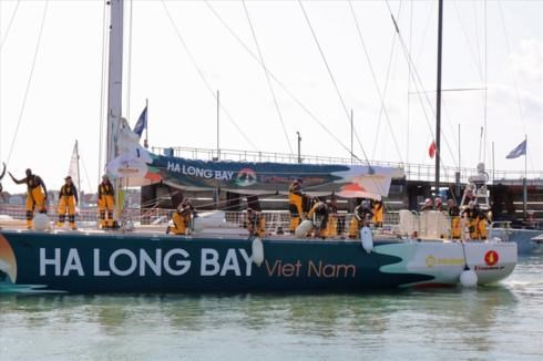 Le voilier « Ha Long Bay – Vietnam » rejoint la Clipper Round the World Yatch Race 2019-2020 hinh anh 1