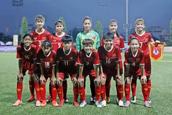 Le tournoi international de football feminine U15 commence a Hanoi hinh anh 1
