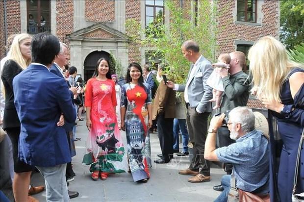 La Journee du Vietnam en Belgique hinh anh 1
