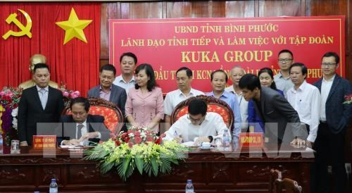 Un groupe chinois investit 50 millions de dollars a Binh Phuoc hinh anh 1