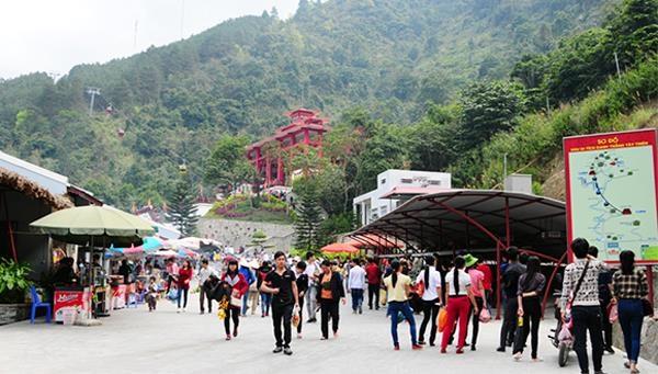 Vinh Phuc accueille plus de 85.000 touristes a l'occasion de la Fete nationale hinh anh 1