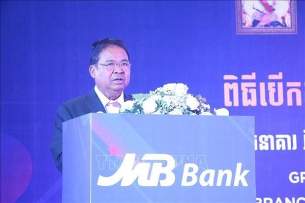 Le Cambodge apprecie les contributions des entreprises vietnamiennes hinh anh 1