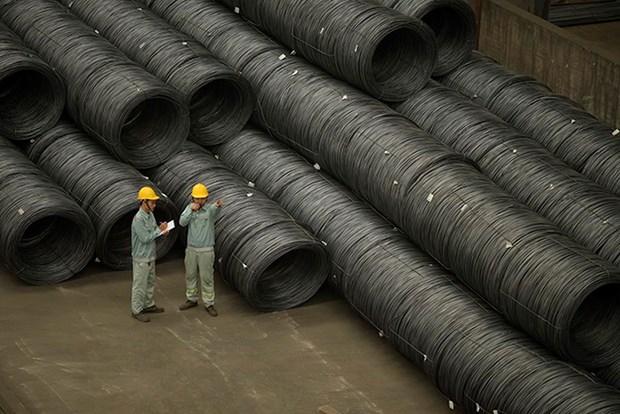 Hoa Phat exporte 165.000 tonnes d'acier en huit mois hinh anh 1