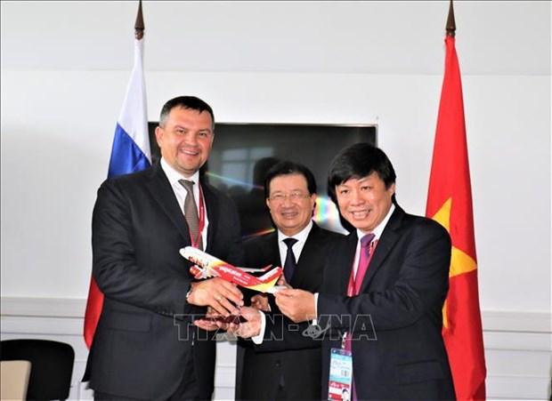 Vietjet Air envisage de lancer des liaisons aeriennes vers l'Extreme-Orient de la Russie hinh anh 1