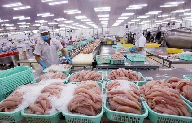 Les exportations de produits aquatiques atteignent plus de 5,5 milliards d'USD en huit mois hinh anh 1
