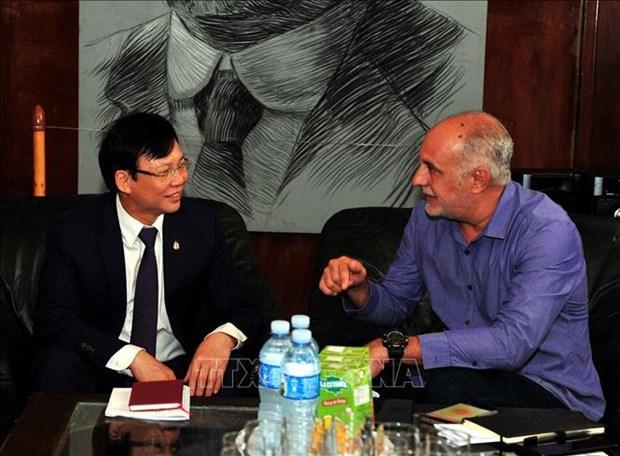 Les journalistes vietnamiens et cubains cultivent leurs liens hinh anh 1