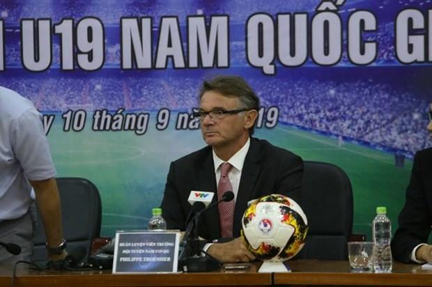 Philippe Trousier nomme selectionneur de l'U19 du Vietnam hinh anh 1