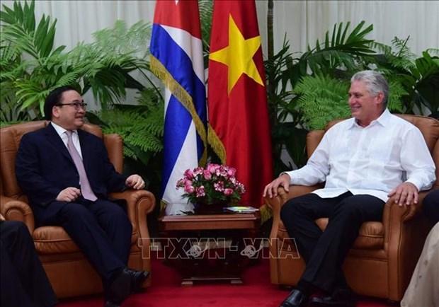 Le Vietnam et Cuba resserrent leurs liens d'amitie traditionnels hinh anh 1