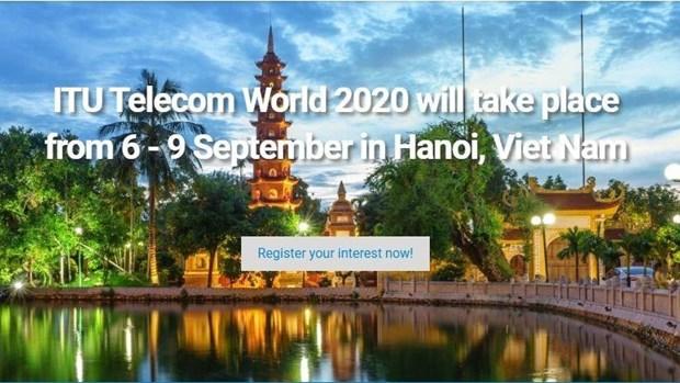 Le Vietnam accueillera ITU Telecom World 2020 hinh anh 1