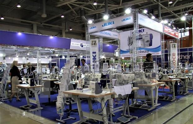 Huit entreprises vietnamiennes participent au Textillegprom en Russie hinh anh 1