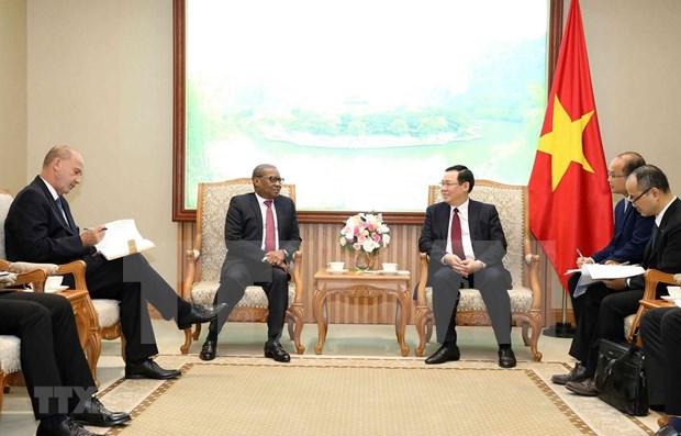 Le Vietnam resserre ses liens avec l'Afrique du Sud et le Nigeria hinh anh 1