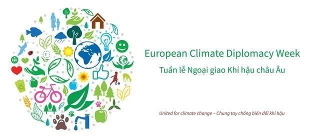 L'UE lance au Vietnam une Semaine de la diplomatie climatique hinh anh 1