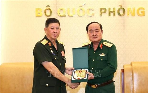 Vietnam et Laos coopere sur le developpement de leur potentiel logistique hinh anh 1