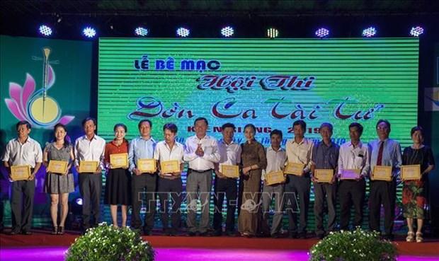Festival de don ca tai tu 2019 a Kien Giang hinh anh 1
