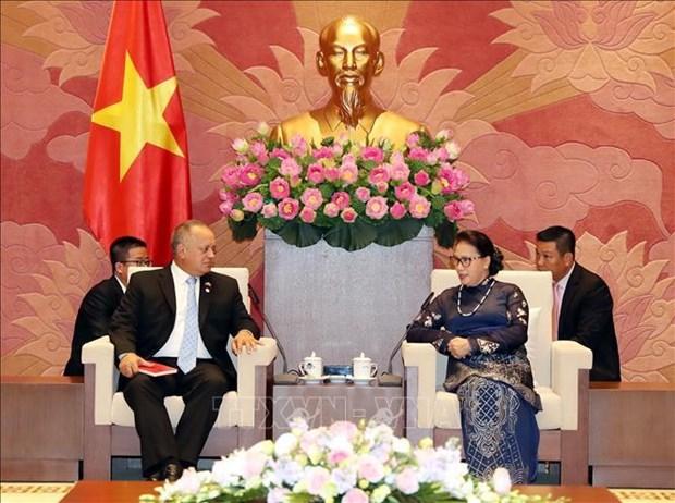 Le Vietnam pret a partager ses experiences avec le Venezuela hinh anh 1