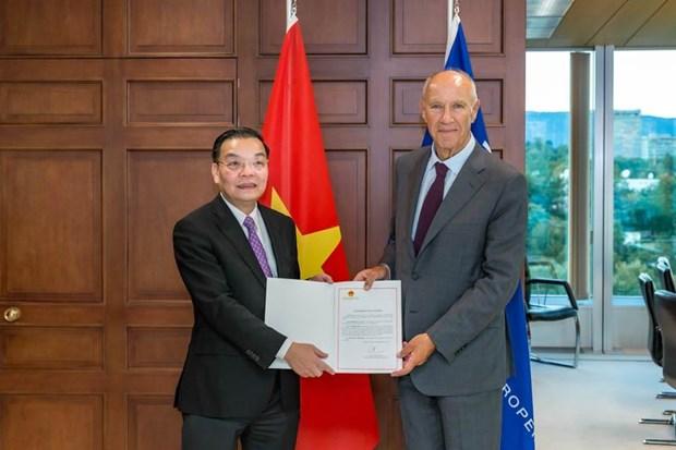 Le Vietnam adhere a l'Arrangement de La Haye hinh anh 1