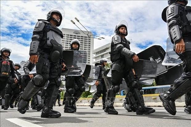 Indonesie : La police dejoue un complot d'attentat a la bombe a Jakarta hinh anh 1