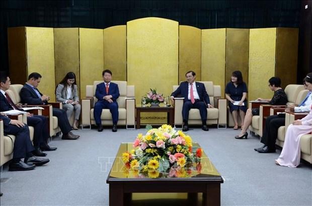 Da Nang veut promouvoir sa cooperation multiforme avec la ville sud-coreenne de Daegu hinh anh 1