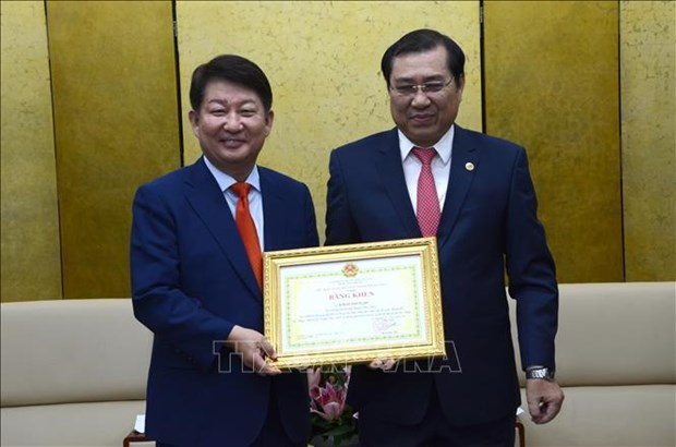 Da Nang veut promouvoir sa cooperation multiforme avec la ville sud-coreenne de Daegu hinh anh 2