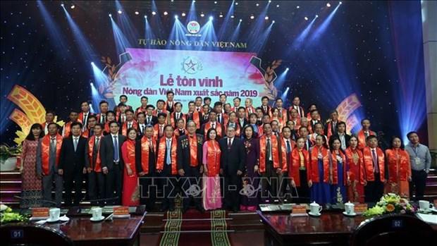 63 agriculteurs vietnamiens exemplaires a l'honneur hinh anh 1