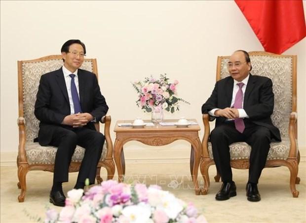 Le PM recoit le ministre chinois de l'Agriculture et des Affaires rurales hinh anh 1