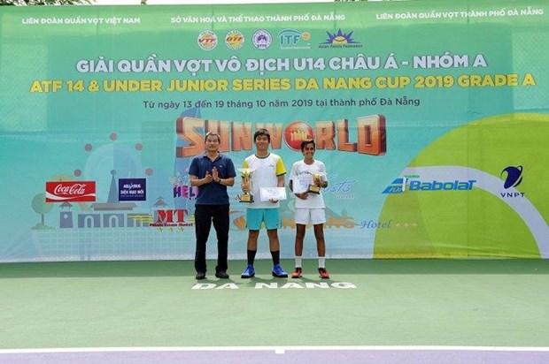 Tennis : Cloture des Championnats U14 d'Asie de Da Nang 2019 – Groupe A hinh anh 1