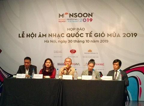 Le Monsoon Music Festival de retour en novembre a Hanoi hinh anh 1