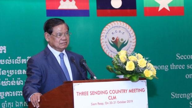 Cooperation Cambodge-Laos-Myanmar pour la securite des travailleurs migrants hinh anh 1
