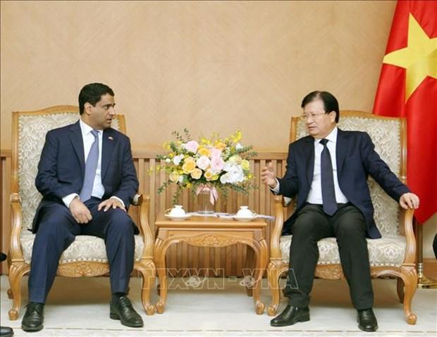 Les entreprises emiraties invitees a elargir leurs investissements au Vietnam hinh anh 1