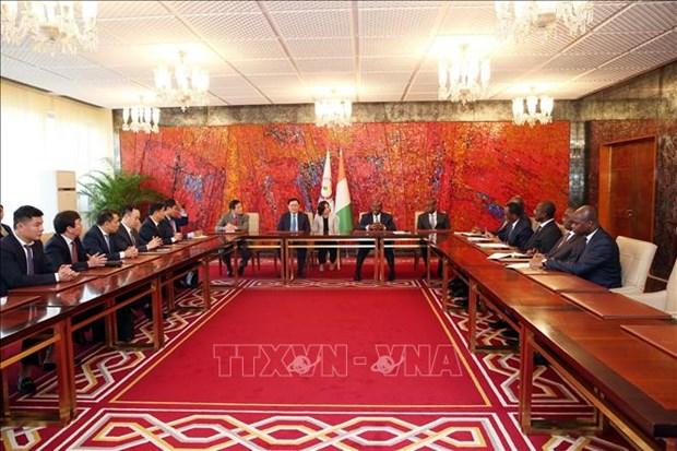 Renforcement de la cooperation entre le Vietnam et la Cote d'Ivoire hinh anh 2