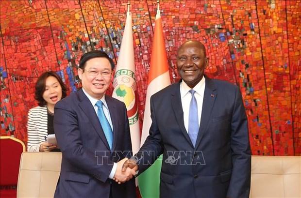 Renforcement de la cooperation entre le Vietnam et la Cote d'Ivoire hinh anh 1