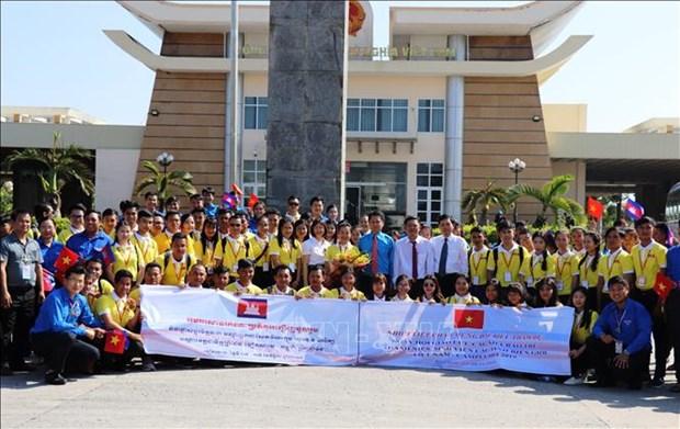 Vietnam - Cambodge : Rencontre de jeunes journalistes et etudiants des provinces frontalieres hinh anh 1