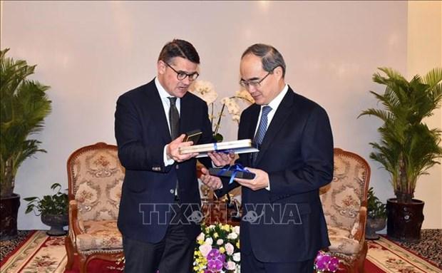 Ho Chi Minh-Ville souhaite promouvoir ses liens avec la Hesse (Allemagne) hinh anh 1