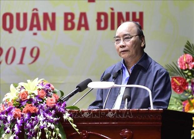 La fete de la grande union nationale celebree a Hanoi, Ben Tre et Tra Vinh hinh anh 1