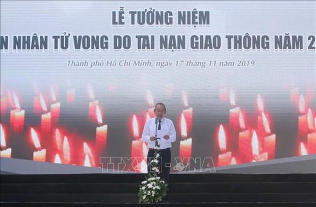 Hommage aux victimes des accidents de la route a Ho Chi Minh-Ville hinh anh 1