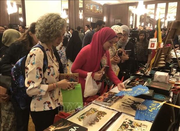Le Vietnam participe au Bazar international de charite 2019 au Caire hinh anh 1