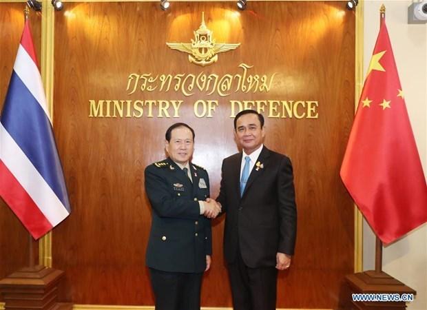 La Thailande veut renforcer la cooperation militaire avec la Chine hinh anh 1