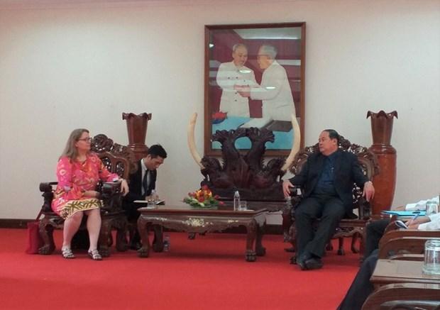 La province de An Giang veut exporter le riz et les fruits aux Etats-Unis hinh anh 1