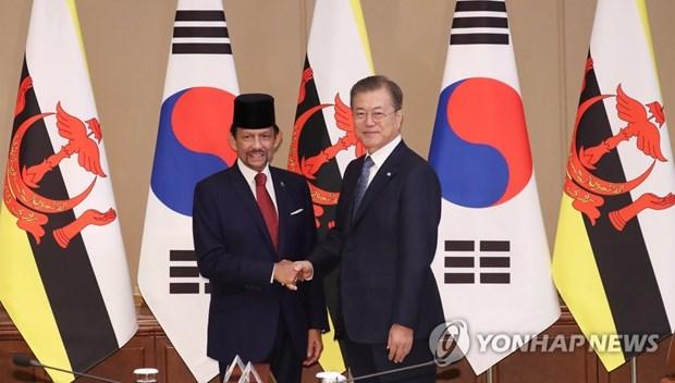 La Republique de Coree et Brunei renforceront les liens dans les TIC et villes intelligentes hinh anh 2