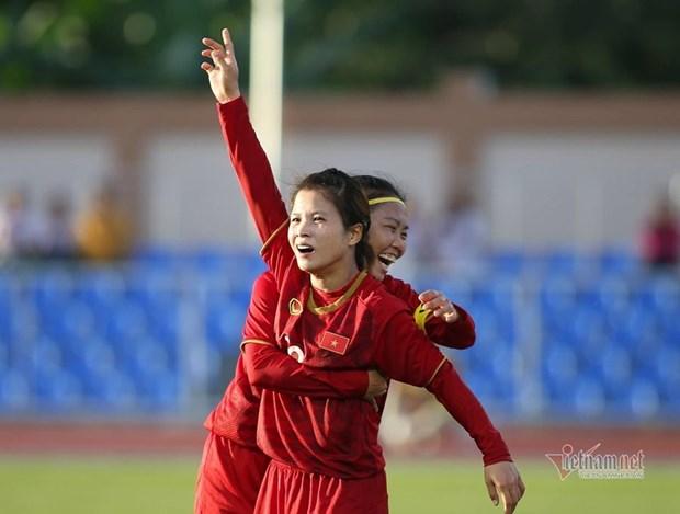 SEA Games 30 – Football feminin : Le Vietnam et la Thailande partagent l'enjeu hinh anh 1