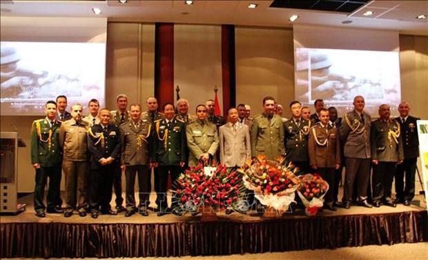 Les 75 ans de l'Armee populaire du Vietnam celebres en Algerie et au Bresil hinh anh 1