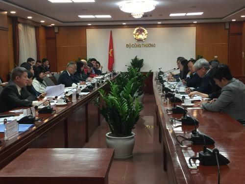 Le Vietnam et la Republique de Coree visent 100 milliards de dollars d'echanges hinh anh 1